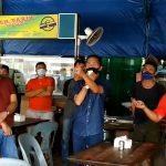 Bawa Megaphone, HAM Tenamkan Disiplin Protokol Kesehatan di Pasar Tibancentre