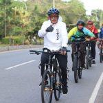 "Sambangi Kecamatan Nongsa, Gowes Pramuka Peduli Tanam Pohon ""Kehidupan"""