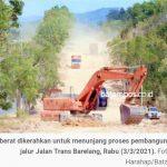 Sesuai Ucapan HMR, Pembangunan Jalan Trans Barelang Mulai Dikerjakan