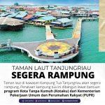 Juni Diprediksi Selesai, HMR Ingin Taman di Atas Laut Rampung Sesuai Target