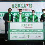 Bersatu Bersama HMR, Grab Bantu 486 Paket Sembako untuk Warga Batam