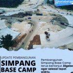 Bundaran Simpang Barelang dan Simpang Base Camp Batuaji Terus Dikebut